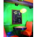 Schreibtafel, Gastrotafel, beidseitig, 90x70cm, wetterfest