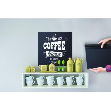 Selbstklebende Tafelfolie, schwarz, 100x45cm
