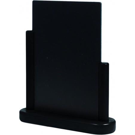 Tischschild, klassisch, 15x21cm, Holzrahmen, schwarz