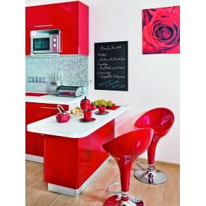 Securit©Woody,Schreibtafel, Gastrotafel, 80x60cm, beidseitig beschriftbar, schwarz