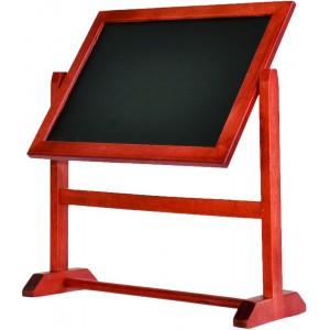Tischschild, 360 Grad-rotierende Tisch-Kreidetafel, A4