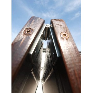 Kundenstopper Holz, 120x70cm, Kiefer Echtholz,  lasiert, extrem wetterfest, A0