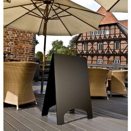 Kundenstopper Super-Robust, 90x60cm, Wetterfest