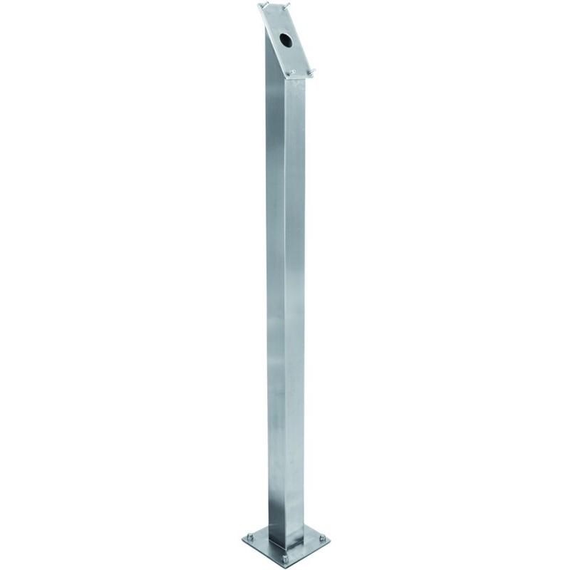 Standfuss für LED Schaukasten Edelstahl, 120cm, 15kg, Infoständer