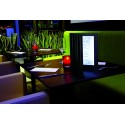 3er-Set-LED Menükarten, A4, zweiseitig, beleuchtet, Leder, 35x27x2cm