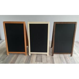 Kundenstopper Holz 93x56