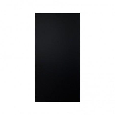 Kreidetafel HPL Outdoor, 90x45cm, besonders wetterfest, ohne Rahmen, schwarz