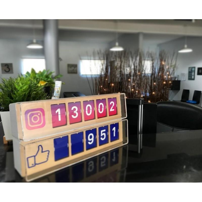 Social Media Counter Paket