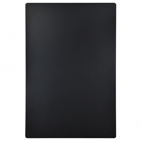 Kreidetafel Super Robust, 60x42cm, schwarz, ohne Rahmen, wetterfeste Gastrotafel