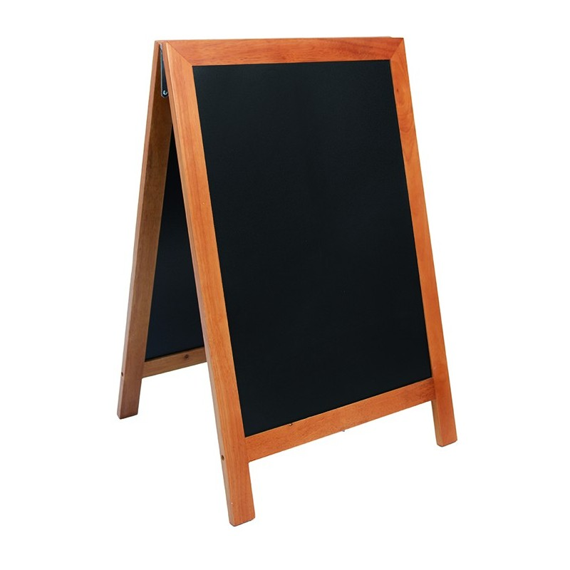 Securit©Deluxe,  Kundenstopper Holz, A1, 85x55cm