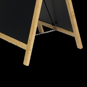 Securit©Deluxe,  Kundenstopper Holz, A0, 120x55cm