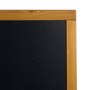 Kundenstopper Holz, Teak,120x70cm, Woody