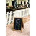 Securit©Woody, Kundenstopper Holz, A1, 85x55cm