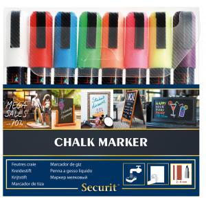 Kreidemarker-Set, 2-6mm, 8 Farben